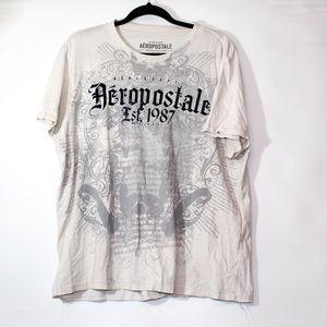 Aeropostale white tshirt